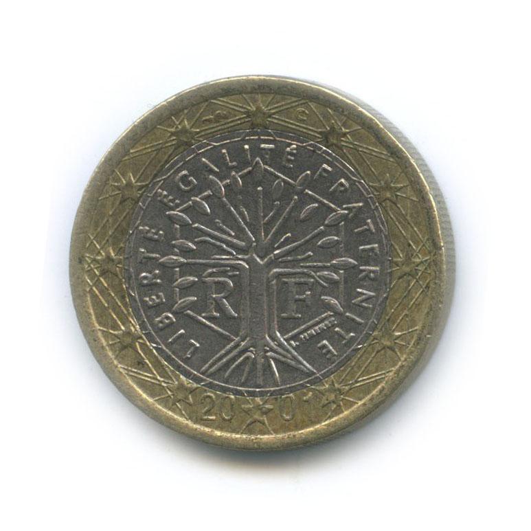 1 евро 2001 года (Франция)