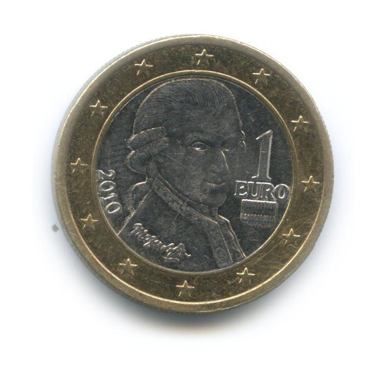 1 евро 2010 года (Австрия)