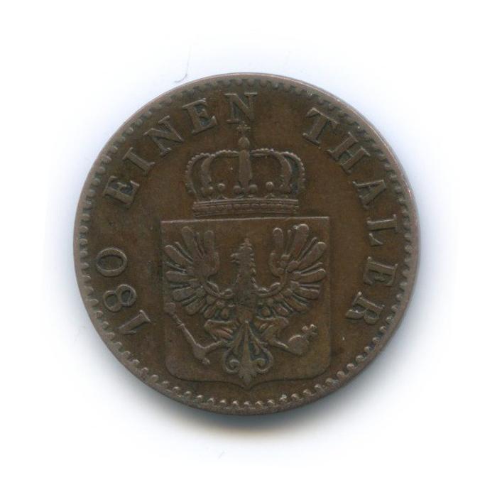 2 пфеннига, Пруссия 1867 года А