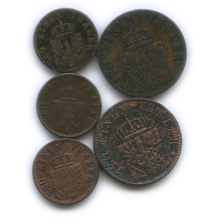 Набор монет, Пруссия