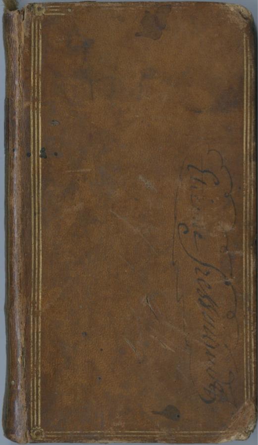 Книга «Произведения Руссо», Женева (203 стр.) 1777 года (Швейцария)