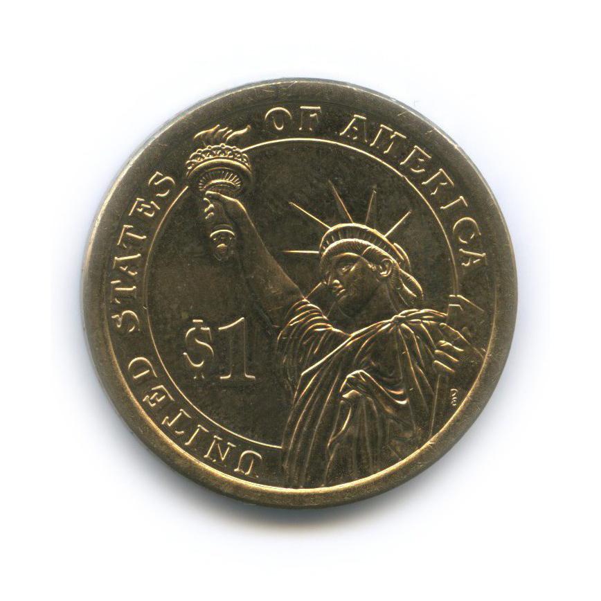 1 доллар — 32-ой Президент США - Франклин Рузвельт (1933–1945) 2014 года D (США)