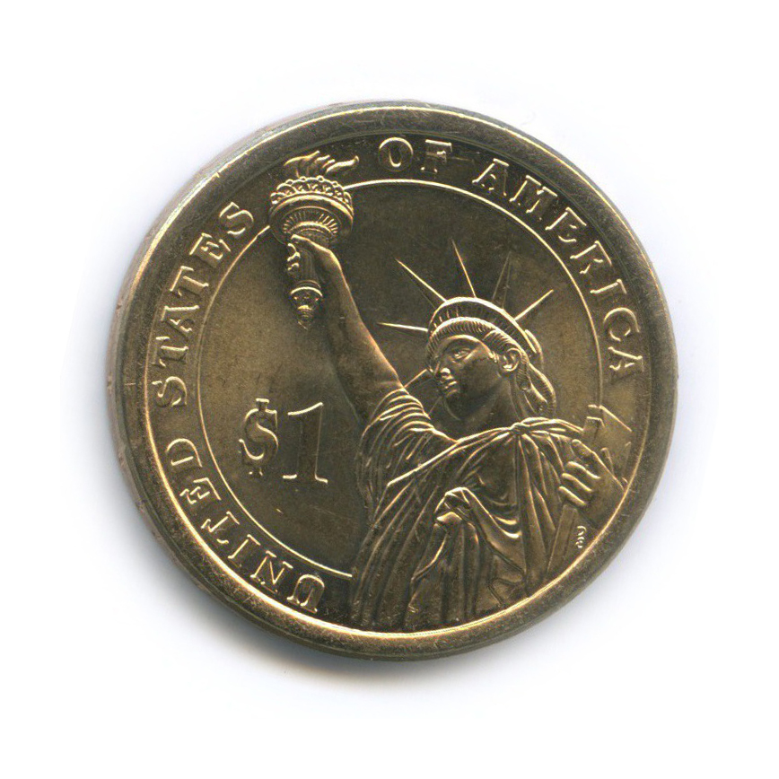 1 доллар — 31-й Президент США - Герберт Гувер (1929–1933) 2014 года Р (США)