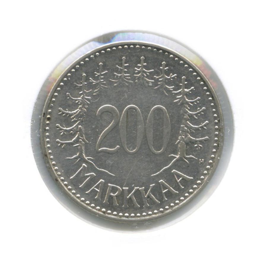 200 марок (в холдере) 1957 года (Финляндия)
