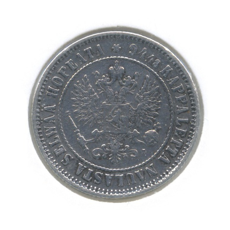 1 марка (в холдере) 1892 года L (Российская Империя)