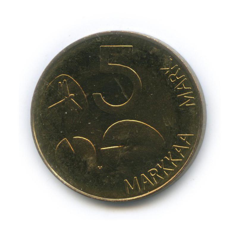 5 марок 1992 года n (Финляндия)