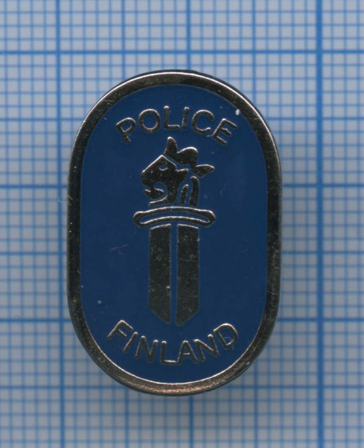 Знак «Police Finland» (Финляндия)