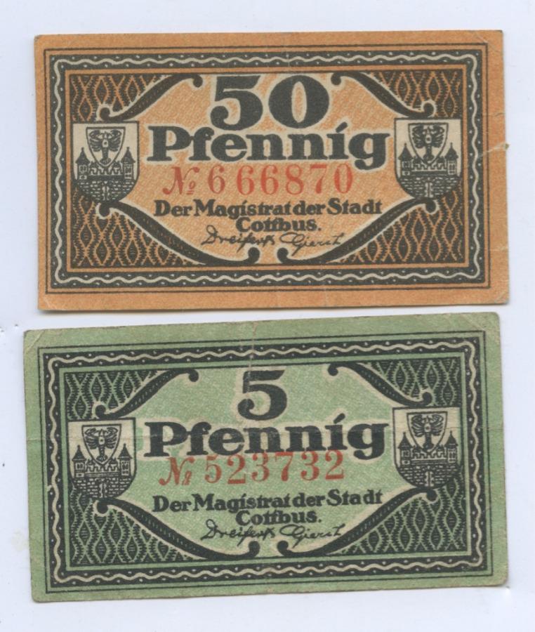 Набор банкнот 1921 года (Германия)