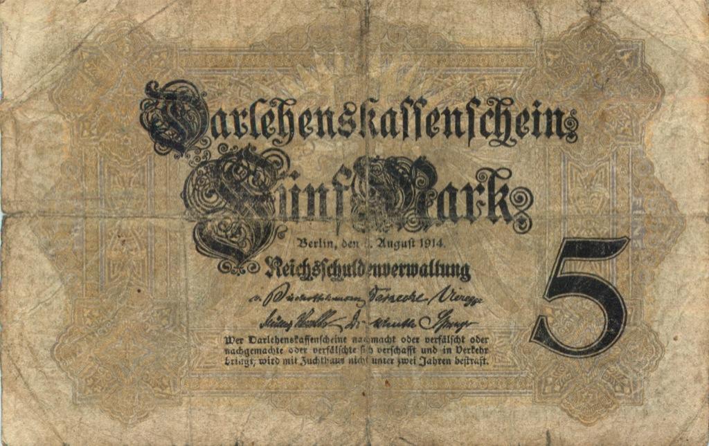 5 марок 1914 года (Германия)