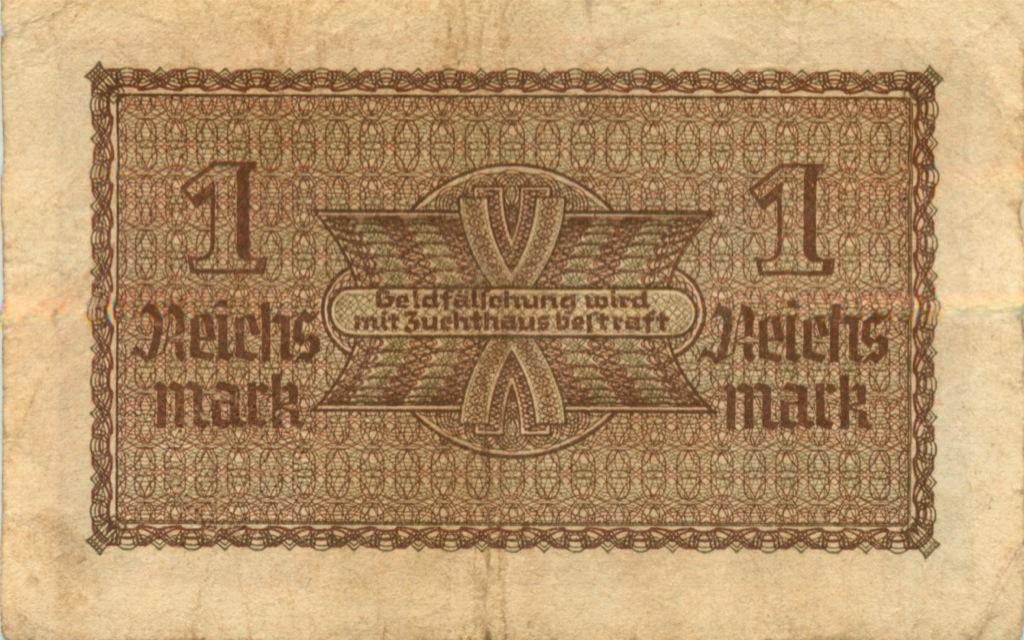 1 рейхсмарка 1939 года (Германия (Третий рейх))
