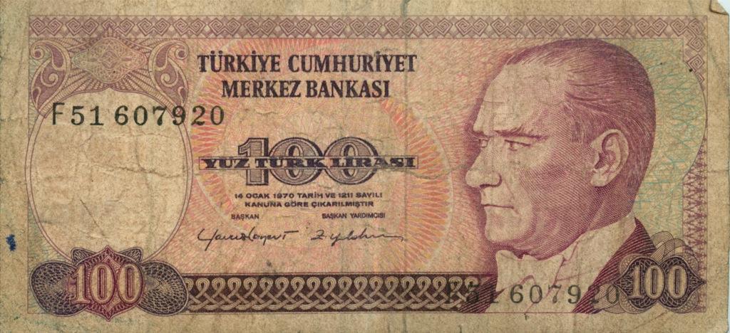 100 лир (Турция)