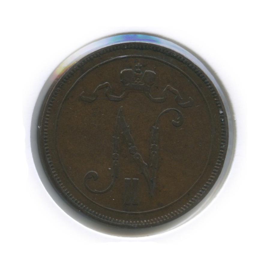 10 пенни (в холдере) 1897 года (Российская Империя)