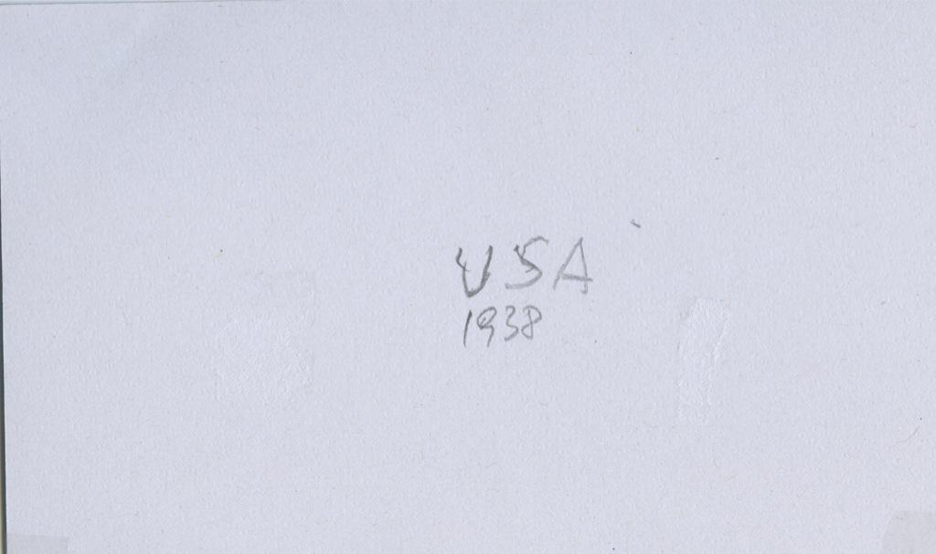 Набор почтовых марок 1938 года (США)