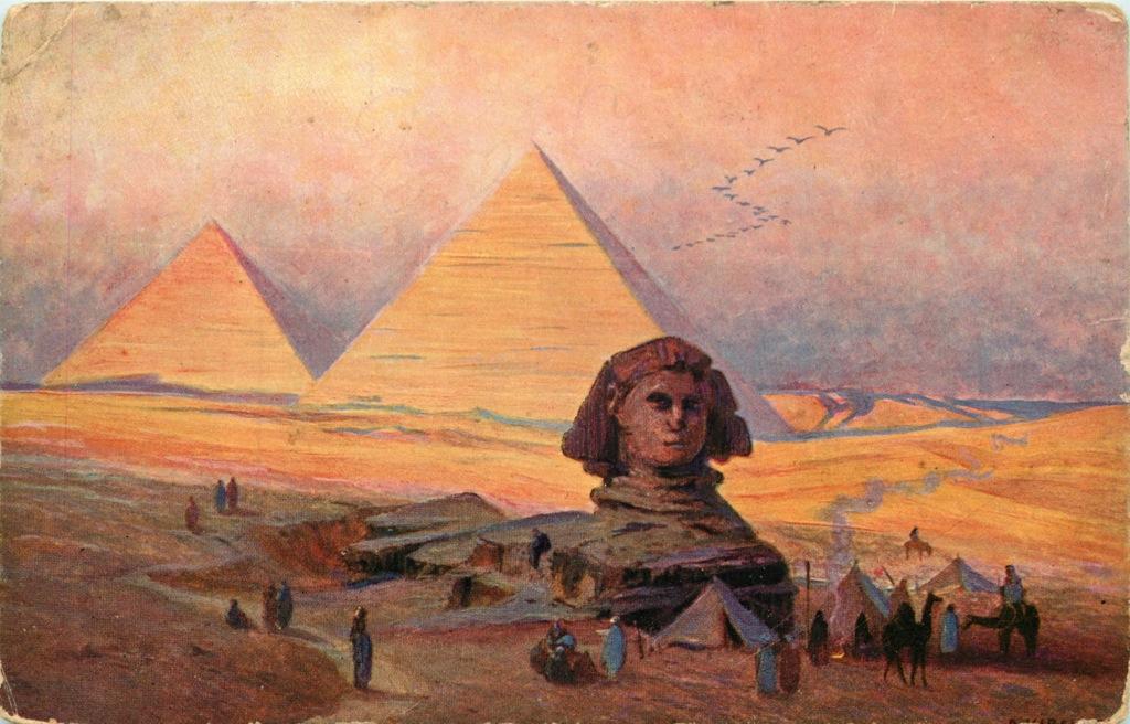 Открытое письмо «Египет» (Российская Империя)