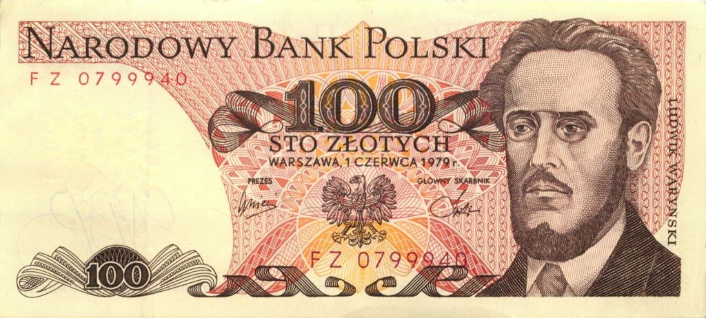 100 злотых 1979 года (Польша)