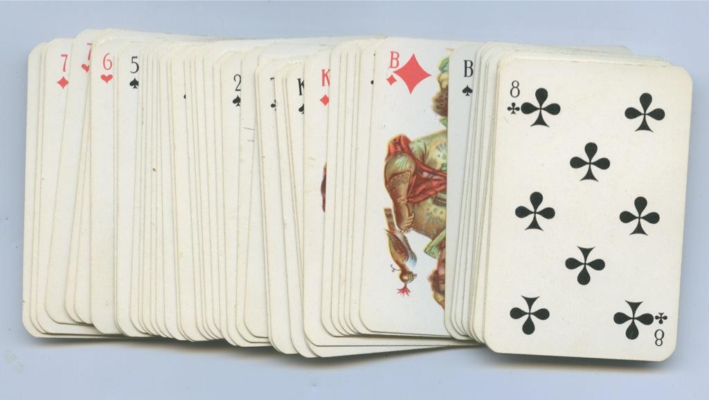 Карты игральные (54 шт.)