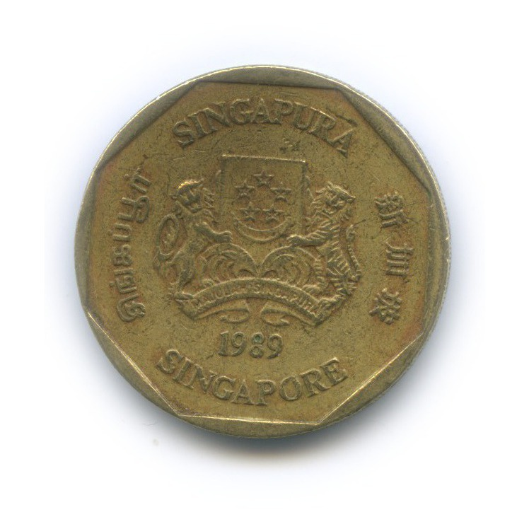 1 доллар 1989 года (Сингапур)