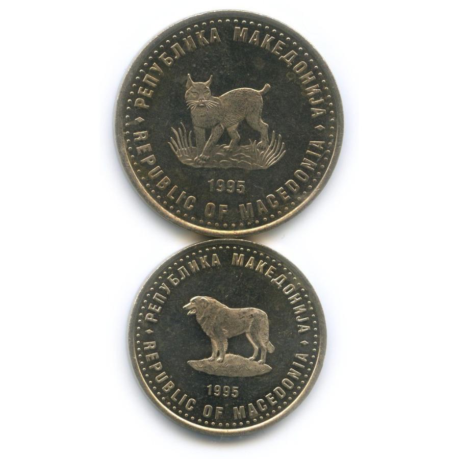 Набор монет - ФАО, Республика Македония 1995 года
