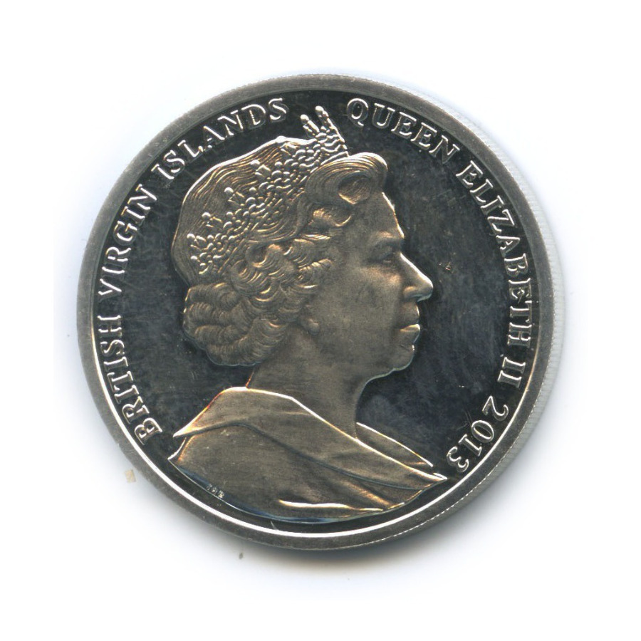 5 долларов - Нарождение (Британские Виргинские острова) 2013 года