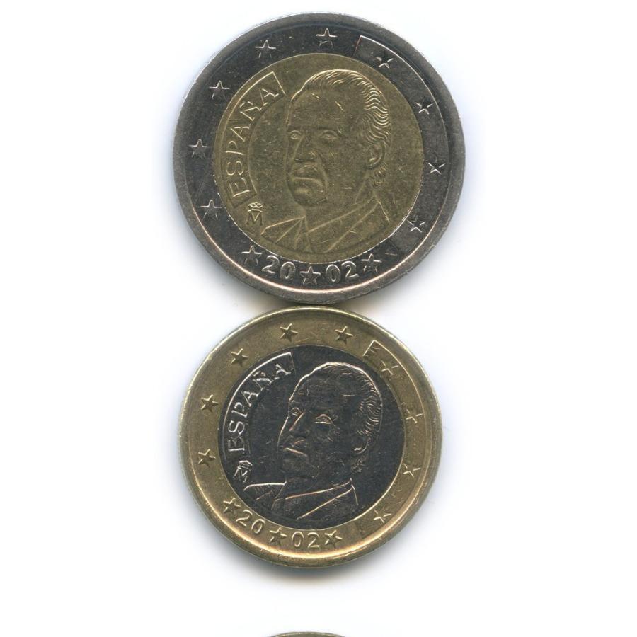 Набор монет 2002 года (Испания)