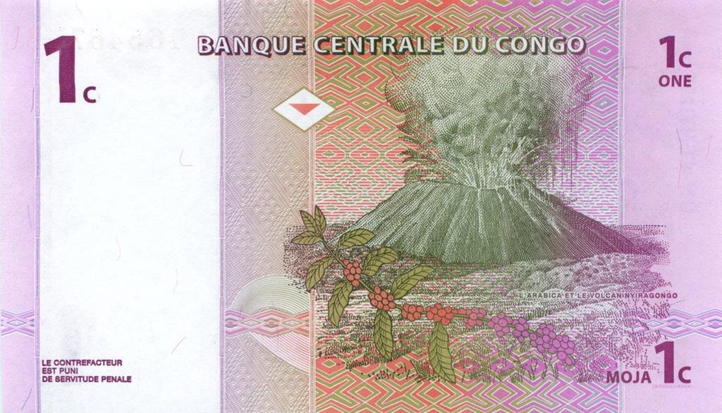 1 сентим (Конго) 1997 года