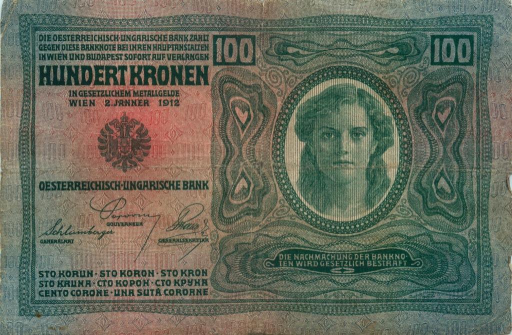100 крон (Австро-Венгрия) 1912 года