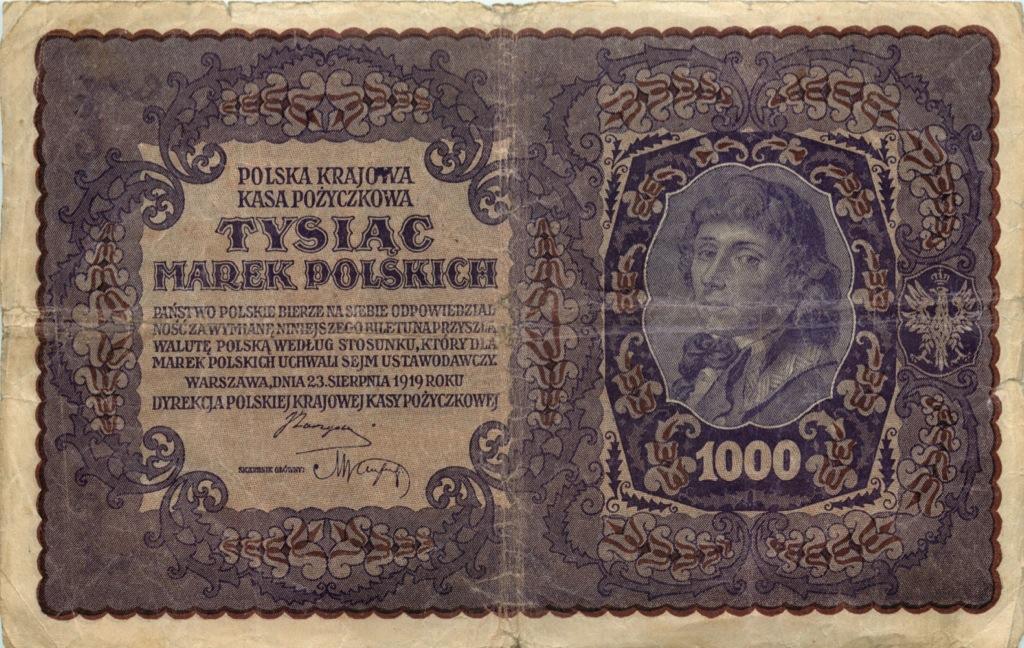 1000 марок 1919 года (Польша)