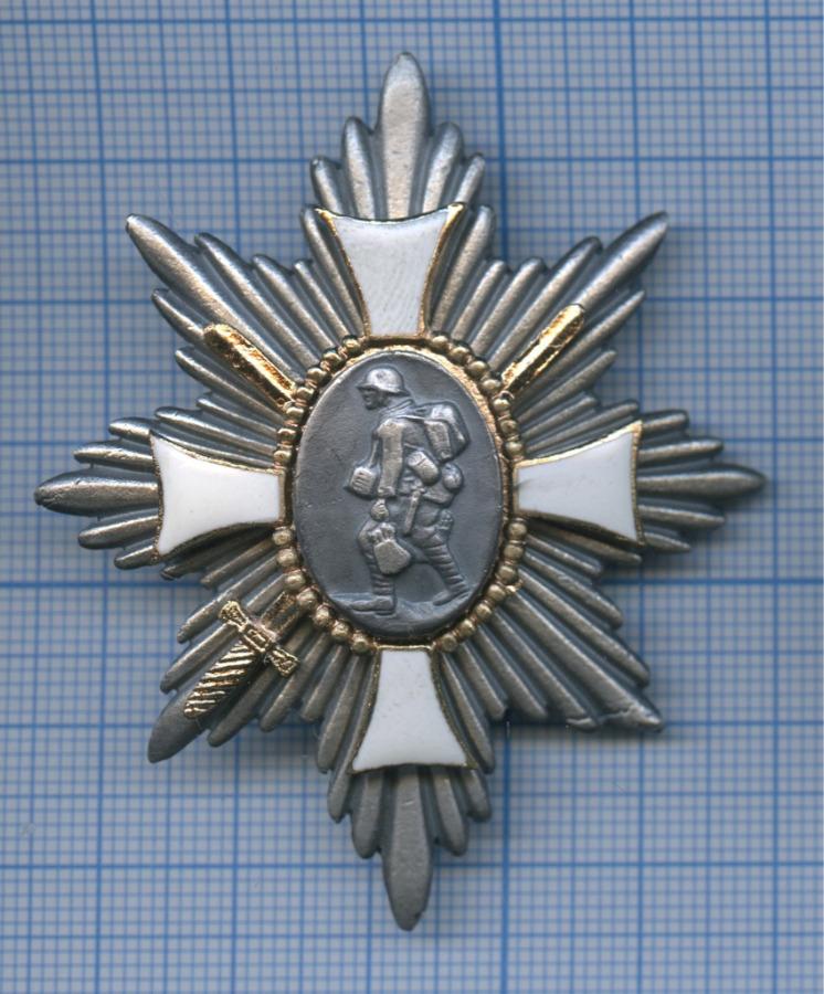 Почетный полевой пехотный знак «Deutsches Feld EhrenZeichen» (копия) (Германия)