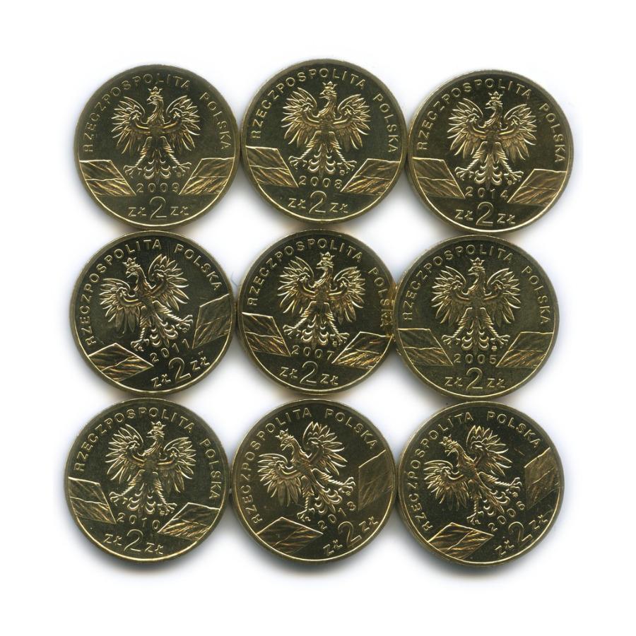 Набор монет 2 злотых - Всемирная природа (Польша)
