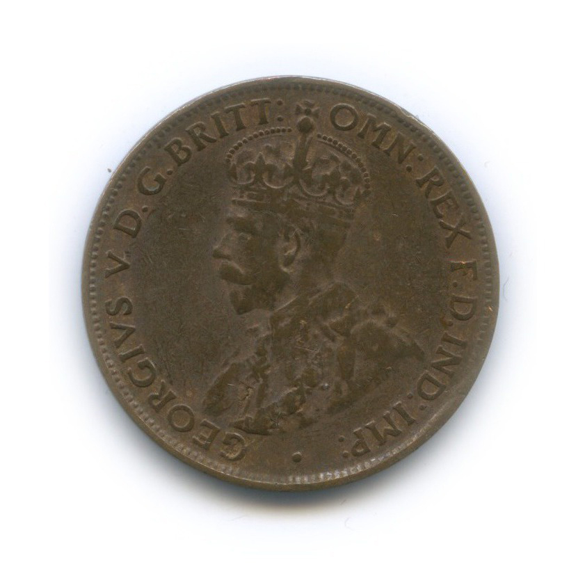 1/2 пенни 1927 года (Австралия)
