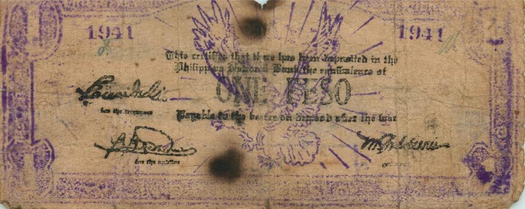 1 песо 1941 года (Филиппины)