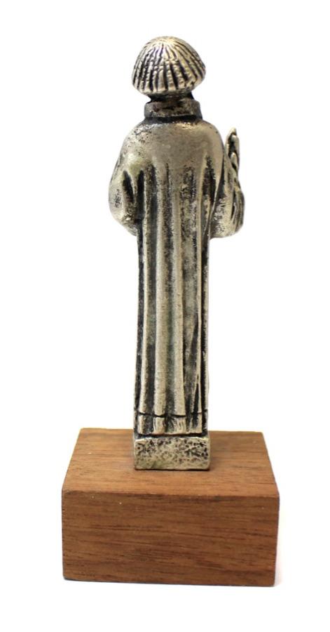 Статуэтка «Hl. Stephanus» (металл, дерево, тяжелая, 10,5 см)
