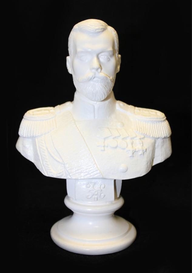 Бюст «Николай II» (14,5 см) (Россия)
