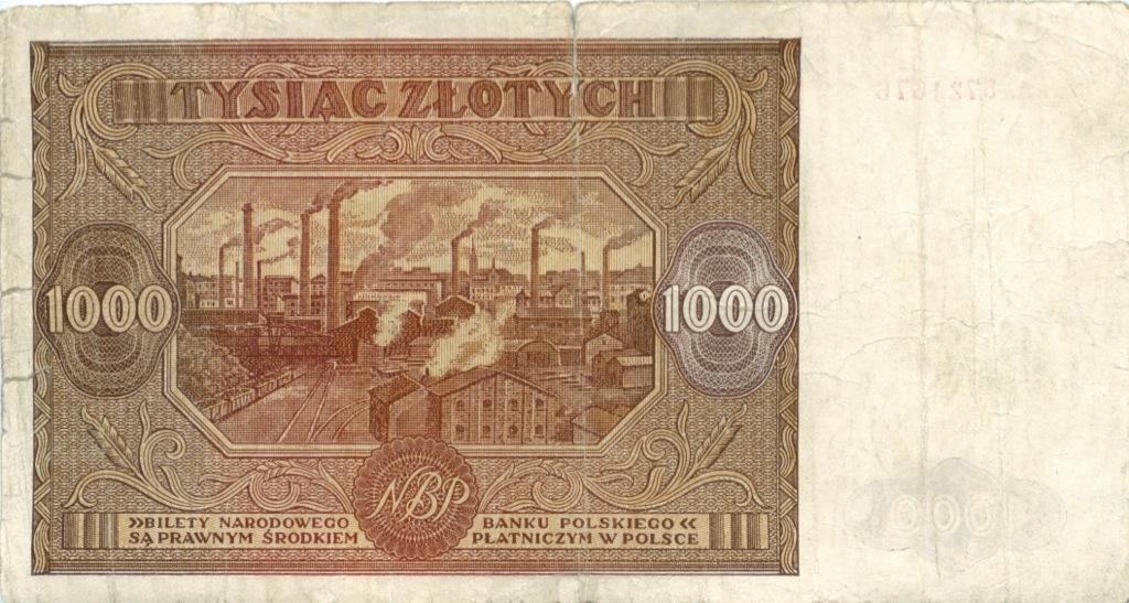 1000 злотых 1946 года (Польша)