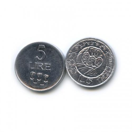 Набор монет 1972, 1973 (Сан-Марино)