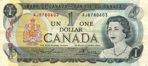 1 доллар 1973 года (Канада)