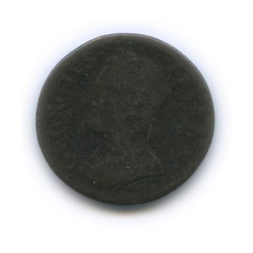 1 фартинг - Георг II 1754 года (Великобритания)