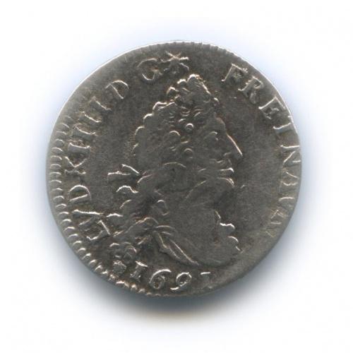 4 соля - Людовик XVI 1691 года (Франция)