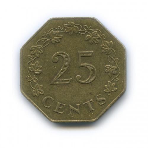 25 центов 1975 года (Мальта)