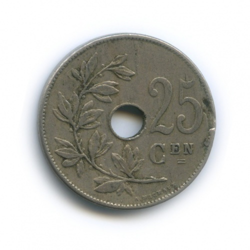 25 сантимов 1910 года (Бельгия)