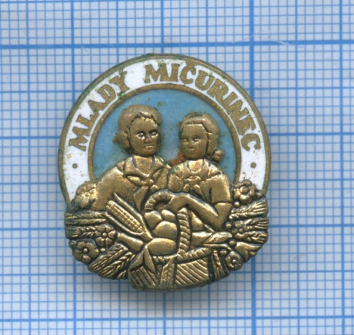 Знак «Mlady Micurinec» (Словакия)