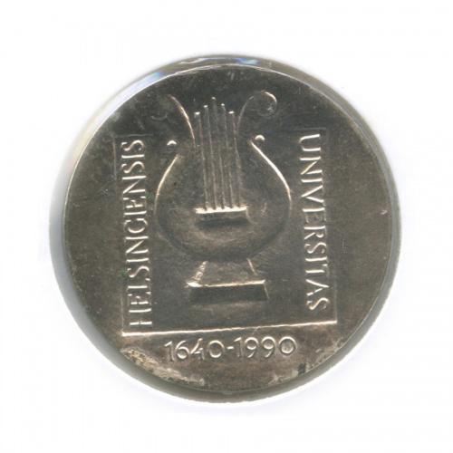 100 марок - 300 лет университету вХельсинки (в холдере) 1990 года (Финляндия)
