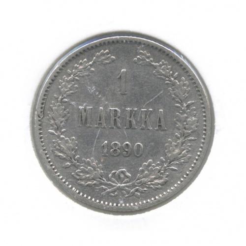 1 марка (в холдере) 1890 года L (Российская Империя)