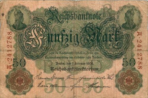 50 мраок 1908 года (Германия)