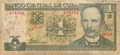1 песо 2009 года (Куба)