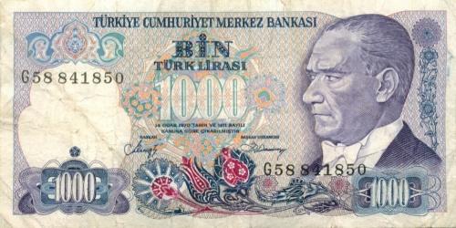 1000 лир (Турция)