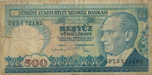 500 лир (Турция)