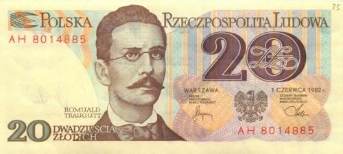 20 злотых 1982 года (Польша)