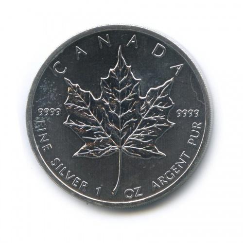 5 долларов — Кленовый лист 2012 года (Канада)