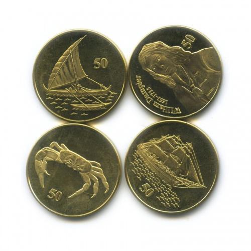 Набор монет 50 центов (Остров Рождества) 2016 года (Австралия)